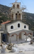 Construction of St. John's Cathedral, Andros