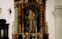 Chamber in the Chateau of Bruchsal in Germany (18th century)