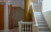 Body of big scagliola column