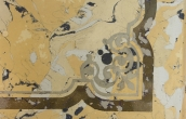 Scagliola inlay with decorative patterns ( 2 / 2 )