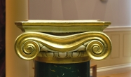 Gilded Ionic capital detail ( 2 / 2 )