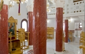 Completed installation of scagliola columns ( 4 / 5 )