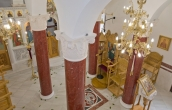 Completed installation of scagliola columns ( 5 / 5 )