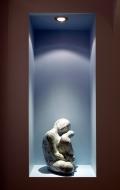 Decorative scagliola statuette ( 3 / 7 )