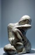 Decorative scagliola statuette ( 5 / 7 )