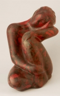 Decorative scagliola statuette ( 6 / 7 )