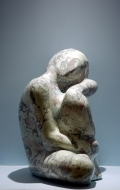 Decorative scagliola statuette ( 7 / 7 )