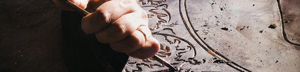 Carved decorative ornamental elements