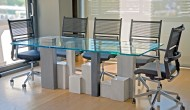 Scagliola city meeting table